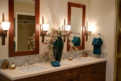 Houston Home Staging Baths